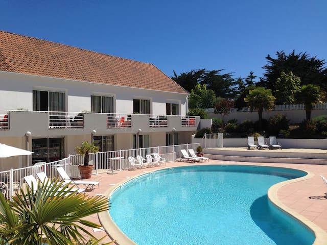 Appartement 4 pers avec piscine ST JEAN DE MONTS - Saint-Jean-de-Monts - Apartament