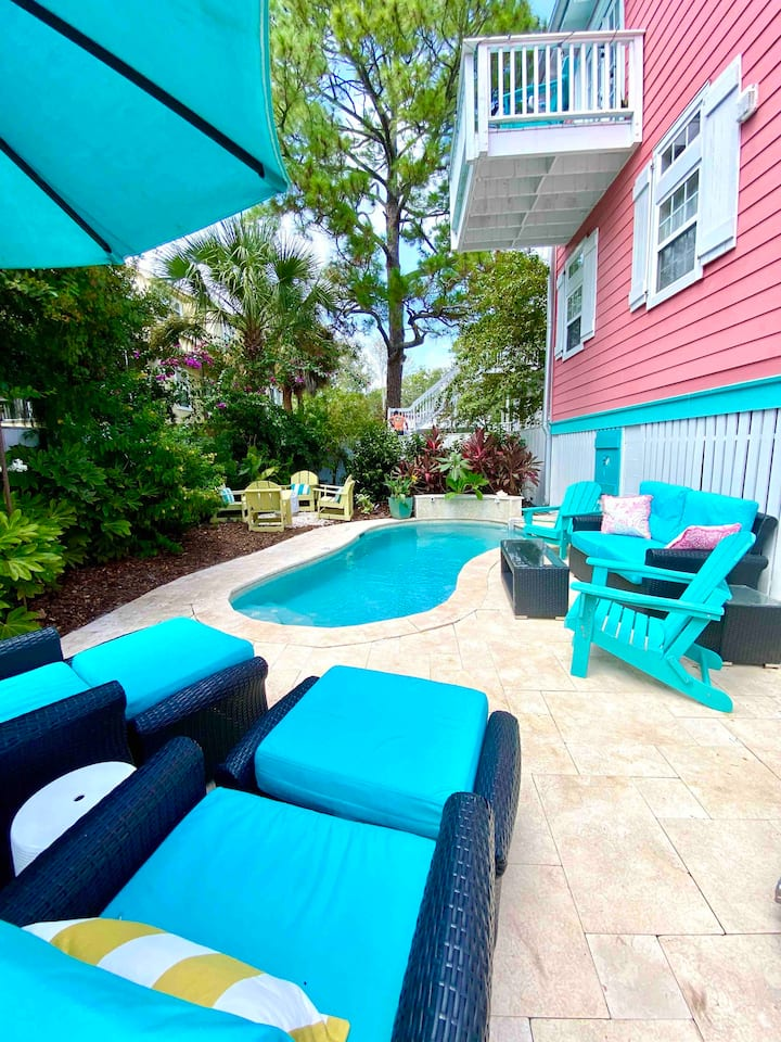 ★Private Heated Pool ★ The Southern Conch Cottage