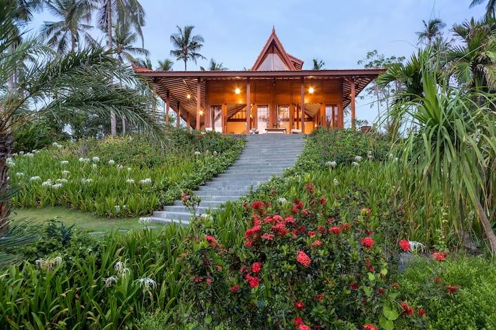 Villa Ronggo Mayang at Balian beach