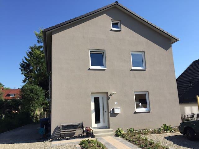 Illmenseeferien - Ferienappartement Ried - Illmensee - Daire
