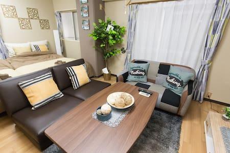 东京 步行范围内即有2个车站!浅草、秋叶原想去就去!徒步可至上野容纳6人的单卧型公寓!免费wifi - Taitō-ku