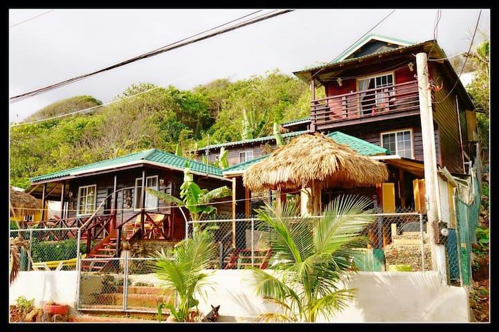 Villa Rasta/ Ocean View Bungalow #2