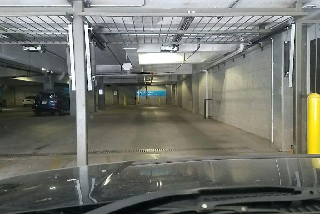 Safe Garage Parking
