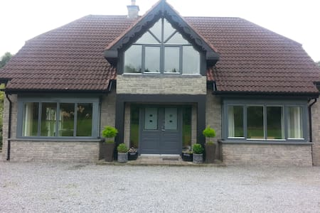 House in Tranquil Woodland, Tullamore, Ireland