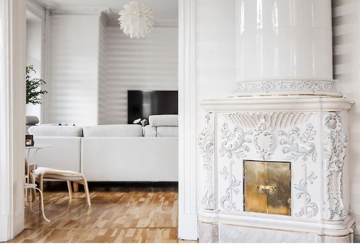 Fantastic & beautiful flat in ctr of Gothenburg - Göteborg - Appartement