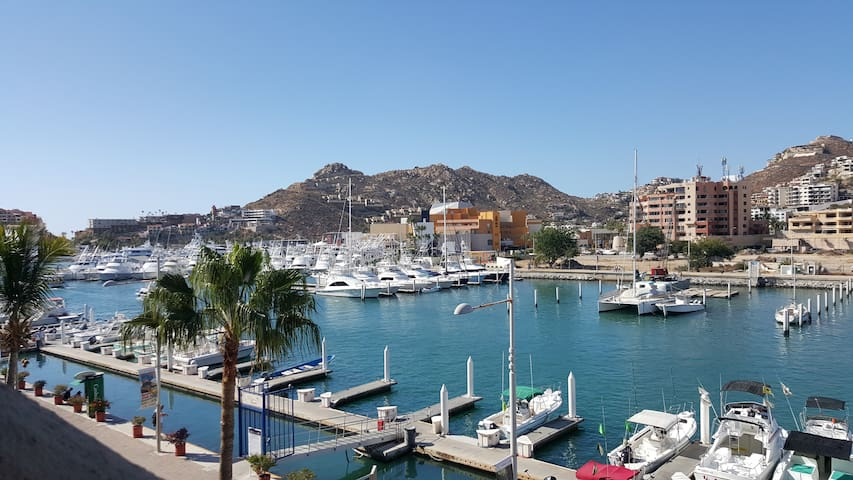 Cabo Marina Studio Suite, Great Location & Views.