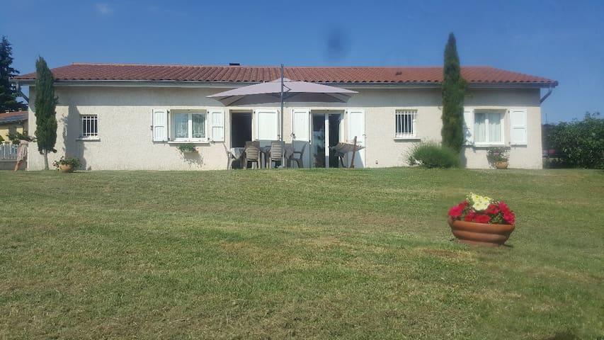 Villa plain pied Monts du Lyonnais