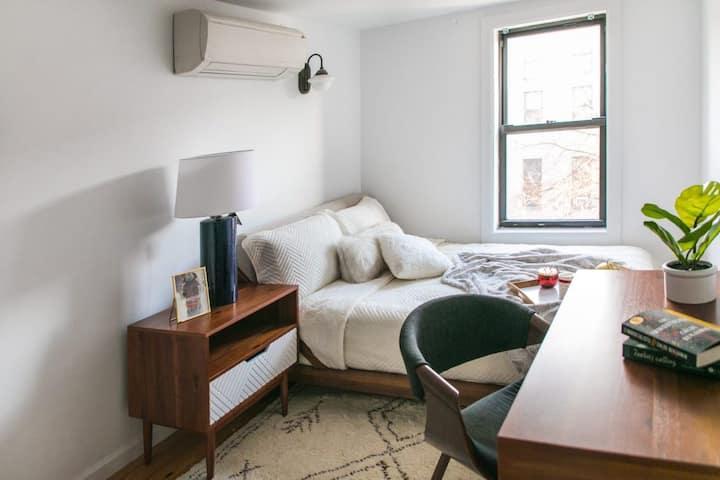 Furnished Room in Prime Bushwick duplex apartment