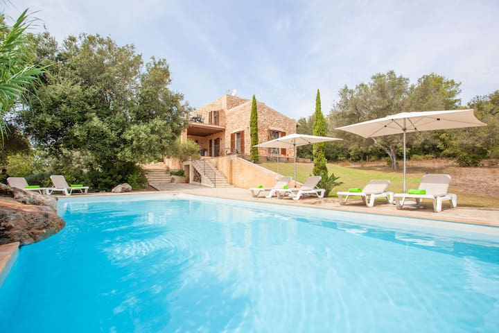 NA FIDEVERA 4 - Villa with private pool in Artà.