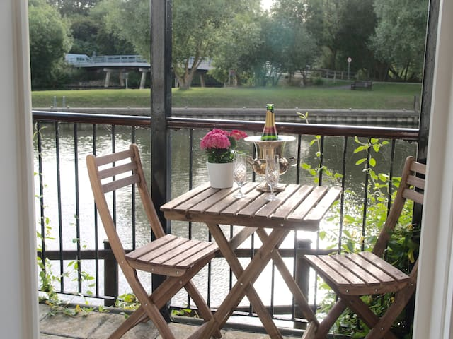 Amazing Riverside views from a Groundfloor Apt - Sandford-on-Thames - บ้าน