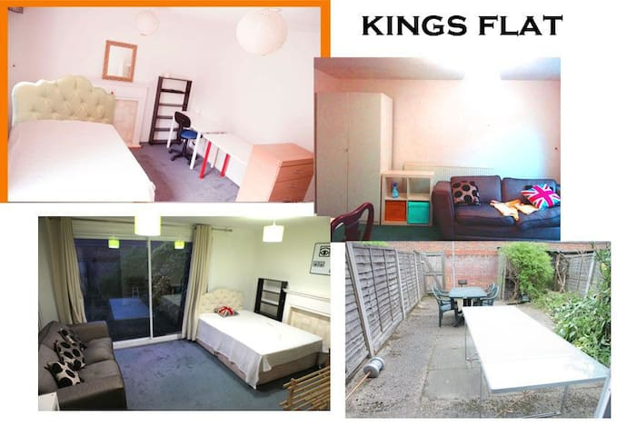 Easy access King'cross lovely room with sofa,desk.