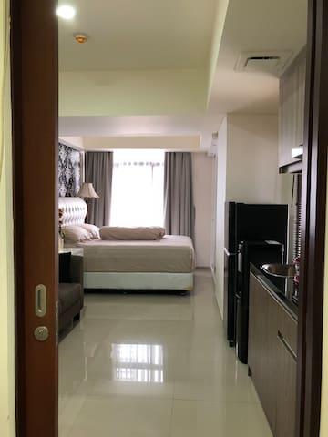 Studio Apartment - The Accent Bintaro