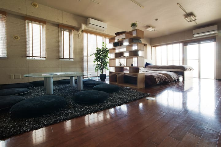 Spacious, Bright & Modern Home, 1min to station! - 世田谷区 - Pis