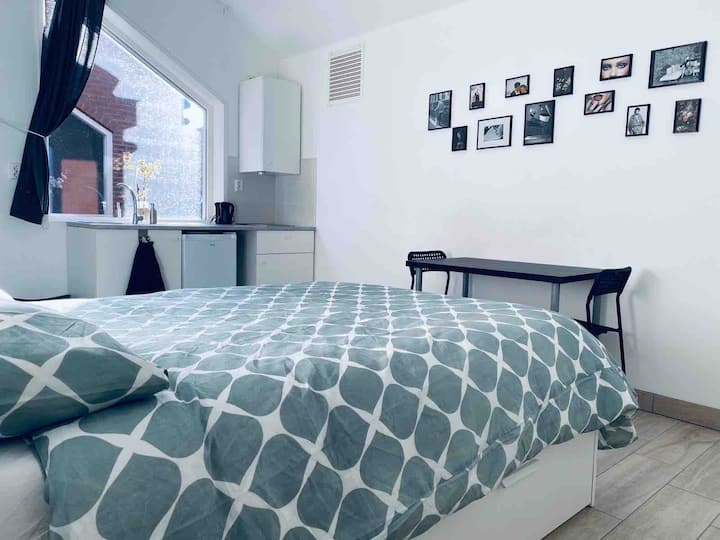 Fully furnished Studio9, 15min from Amsterdam city