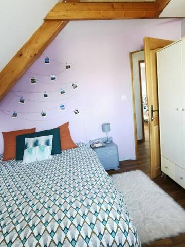 Chambre avec Lit de 160x200cm