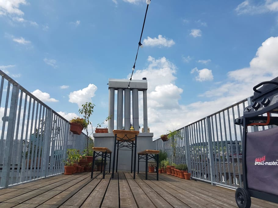 Private Roof Terrasse