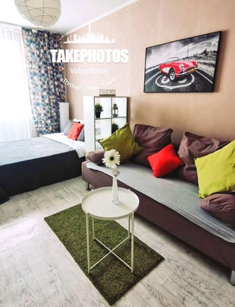 Современная уютная квартира в Волгодонске