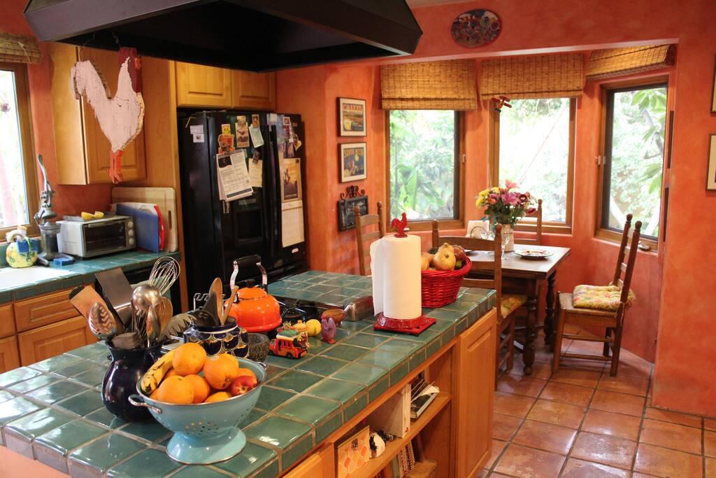 Shared kitchen space