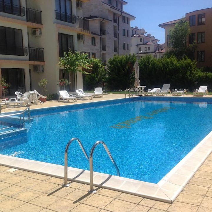SunnyBeach AmberBeach Apartment Nesebar A12-1