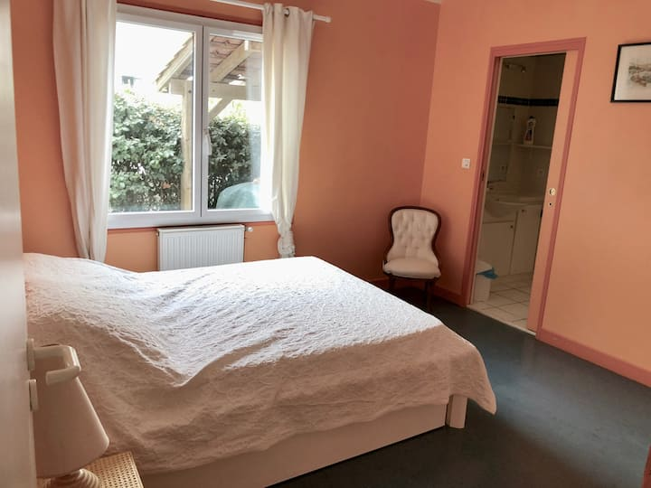 Belle Chambre - Villa 5min à pieds plage + centre