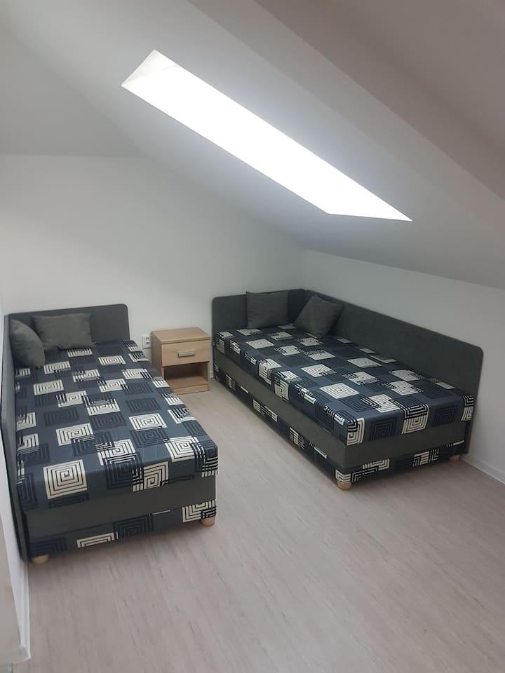 Apartman  v Uherském Brodě pro dva