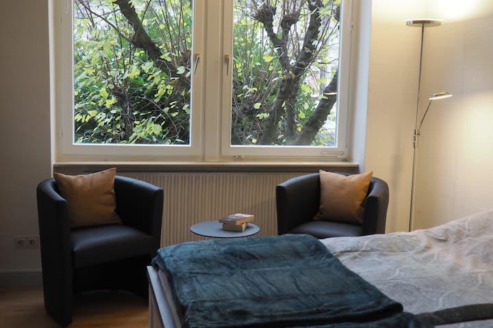 Einlieger-Wohnung im Jugendstilhaus
