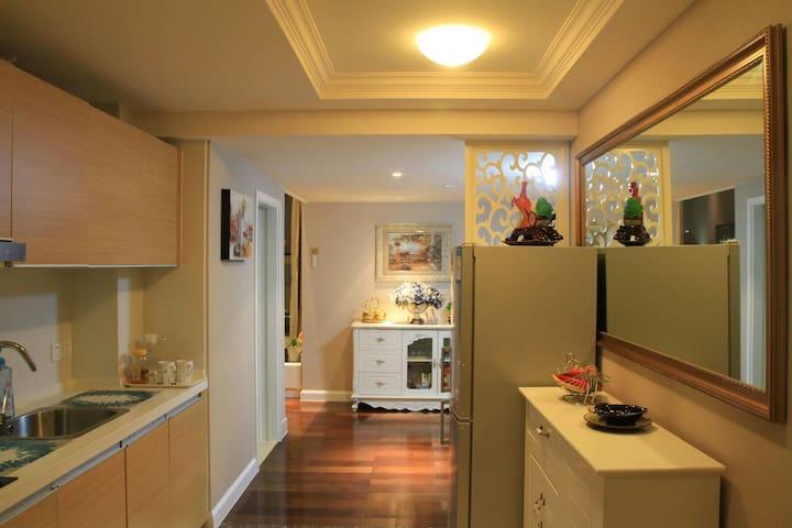 宁波东部新城五星奢华复式大公寓,她让您找到家的感觉 - Ningbo - Appartement