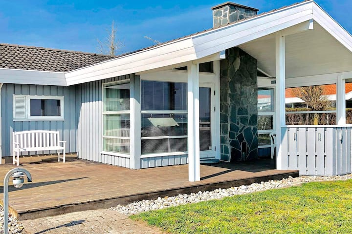 Sea-Side Holiday Home in Sjølund with Whirlpool