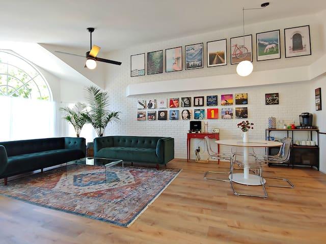 White Poinciana Home