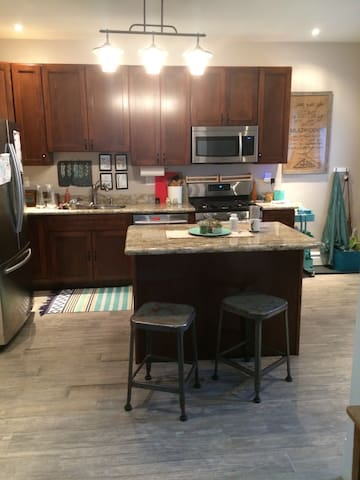Shared Kitchen Space on First Floor
