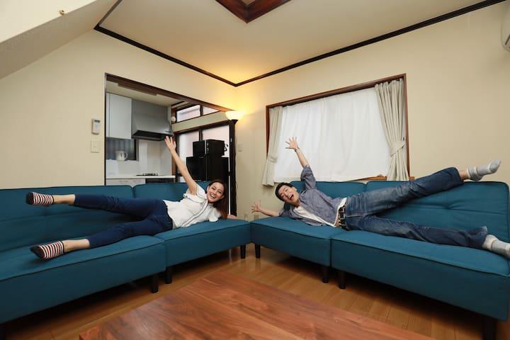 【IBASHO・Roppongi】Max 8 ppl / NETFLIX / Free Wi-Fi