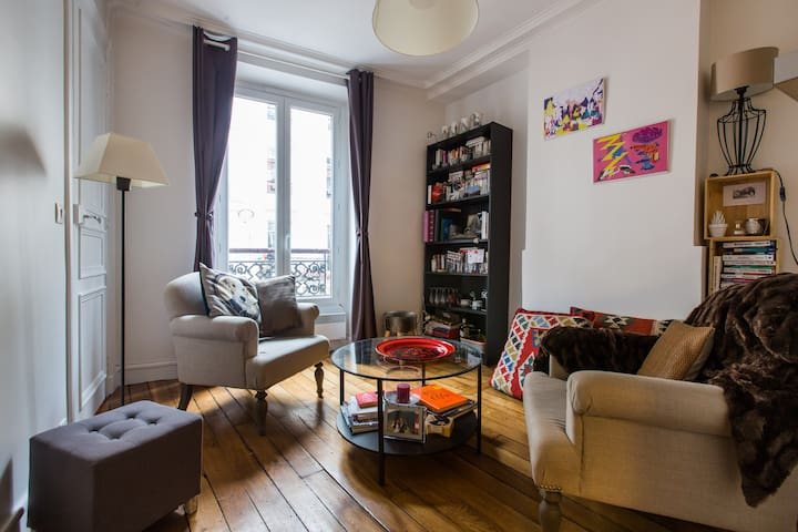 Appartement de charme à Montmartre / Pigalle - Paris - Apartmen