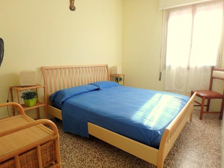 Appartamento con vista mare e climatizzatore