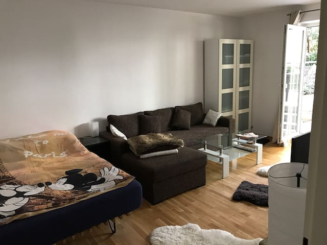 Citycenter - well connected - Airport - Fair quiet - Frankfurt am Main - Apartemen