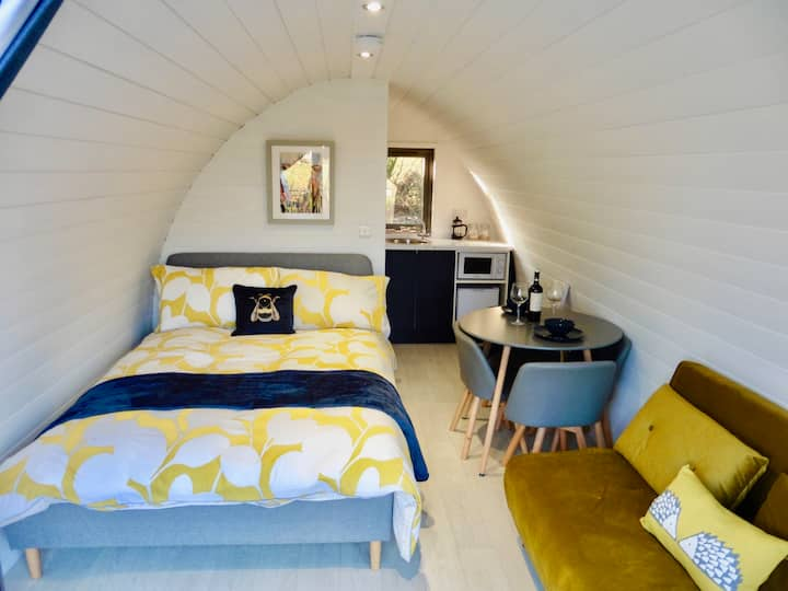 Luxury Glamping Pod Overlooking Lough Erne