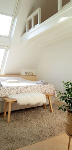 Spacious and bright room in Bruges