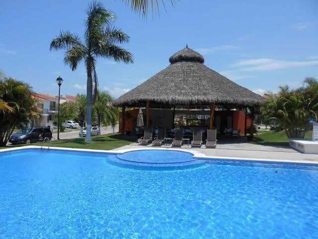 Casa en fraccionamiento privado en Nuevo Vallarta