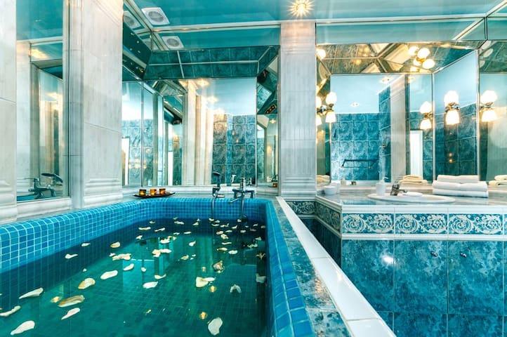 Возле Оперы с мини-басейном - Kijów - Apartament