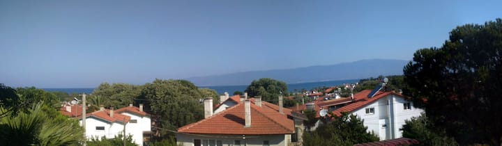 Panoramic bay/mountain view guest house in Ören