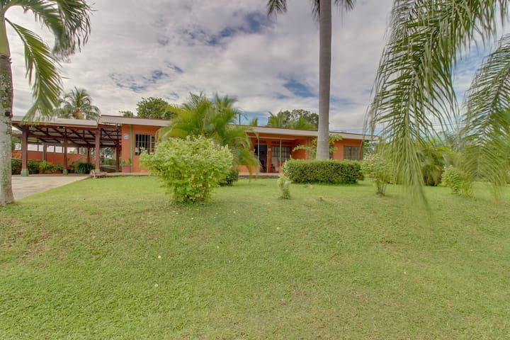 Dog-friendly, secluded villa w/ pool, terrace, grill, & large, private lot