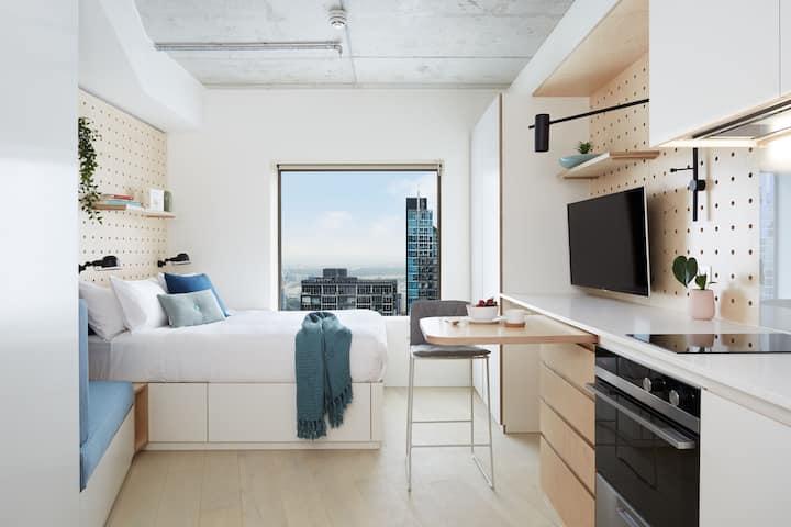 Sleek & Modern City Studio in Melbourne