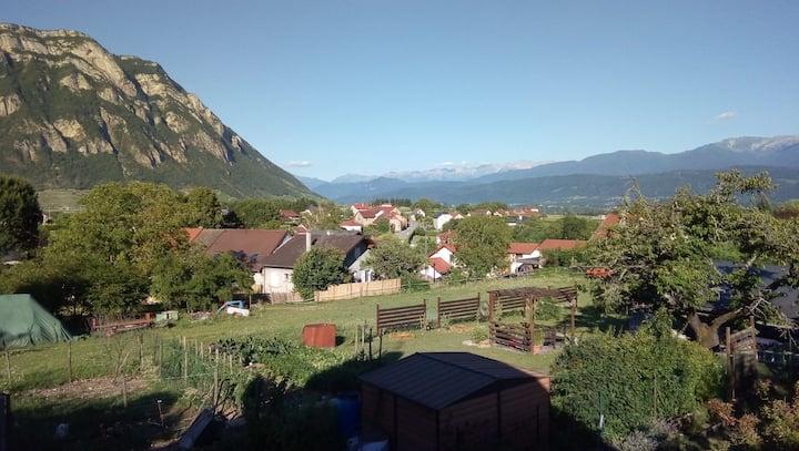 Maison familiale au coeur de la combe de Savoie