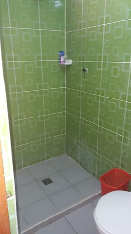 Double + single bed, with private bathroom (2)