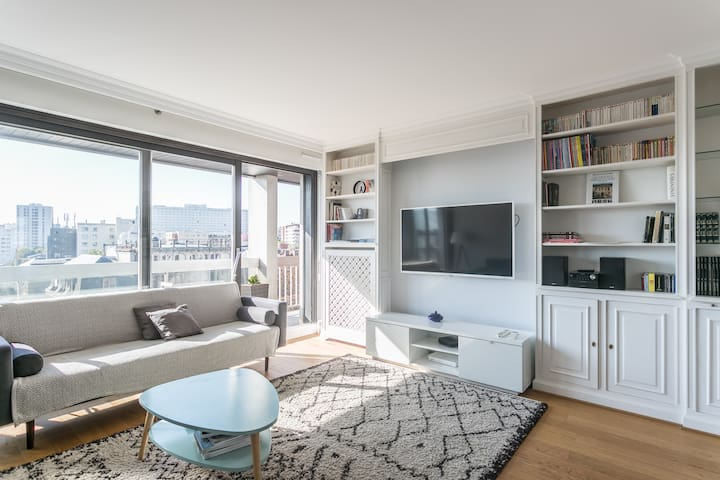 3-ROOM apartment balcony/parking, ideal for family