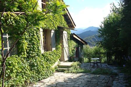 Villa de charme dans village calme avec jardin - Draix - Hus
