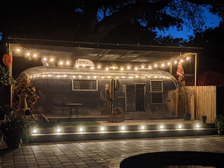 An Airstream Experience in a Great Location