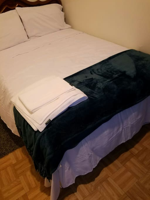 Brand new bed and Sheets