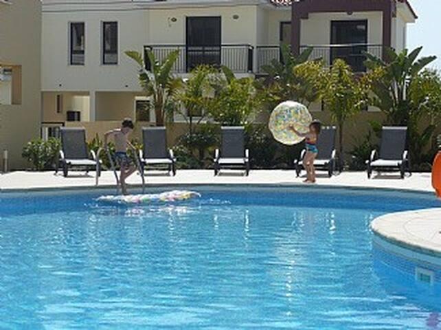 Luxury Anassa Apartment, pool and near beach.