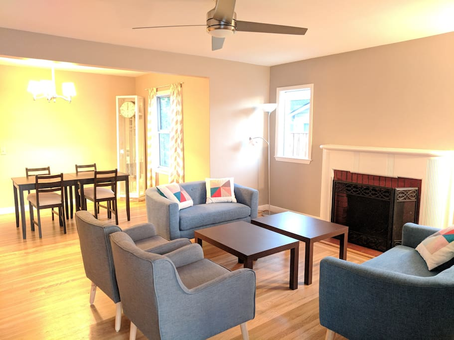 Common space-Living and Dinning