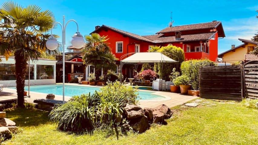 Family suite con piscina